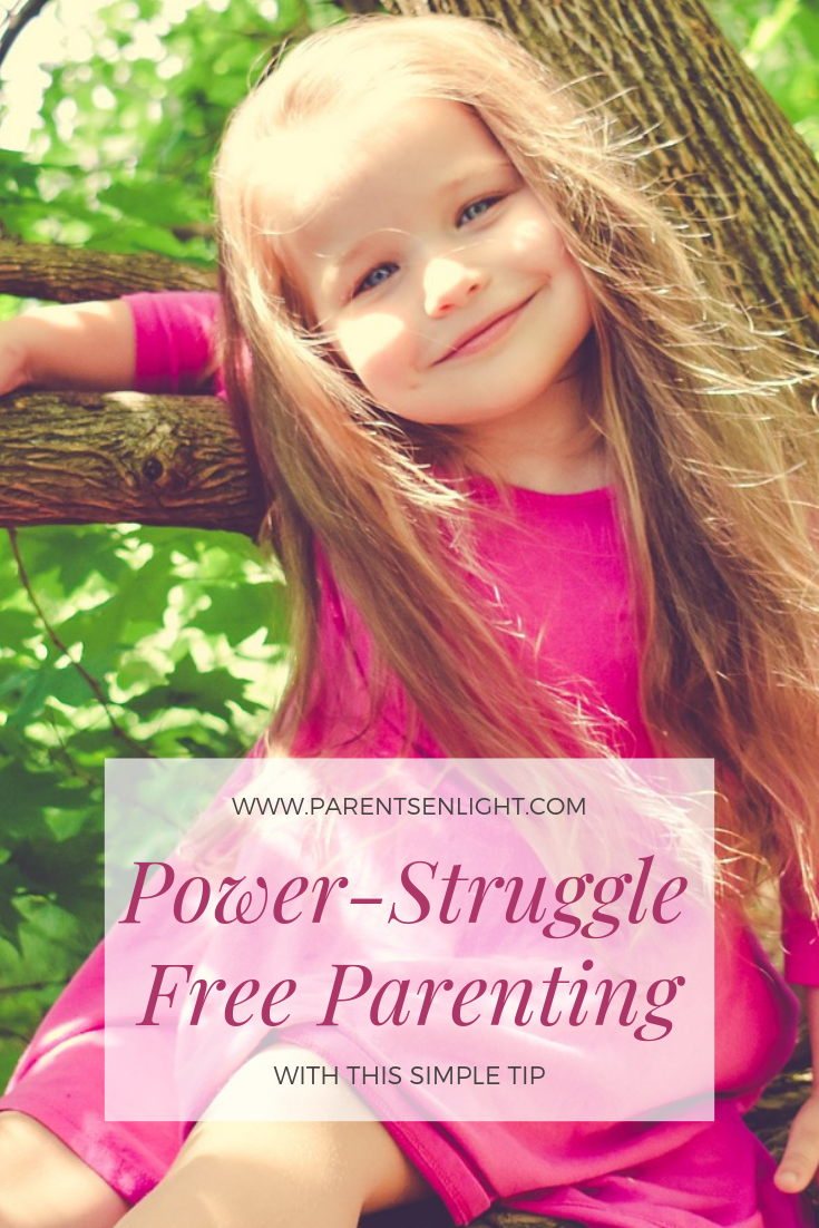 If you had enough of the power struggles with your kids, this one tip will change your parenting.