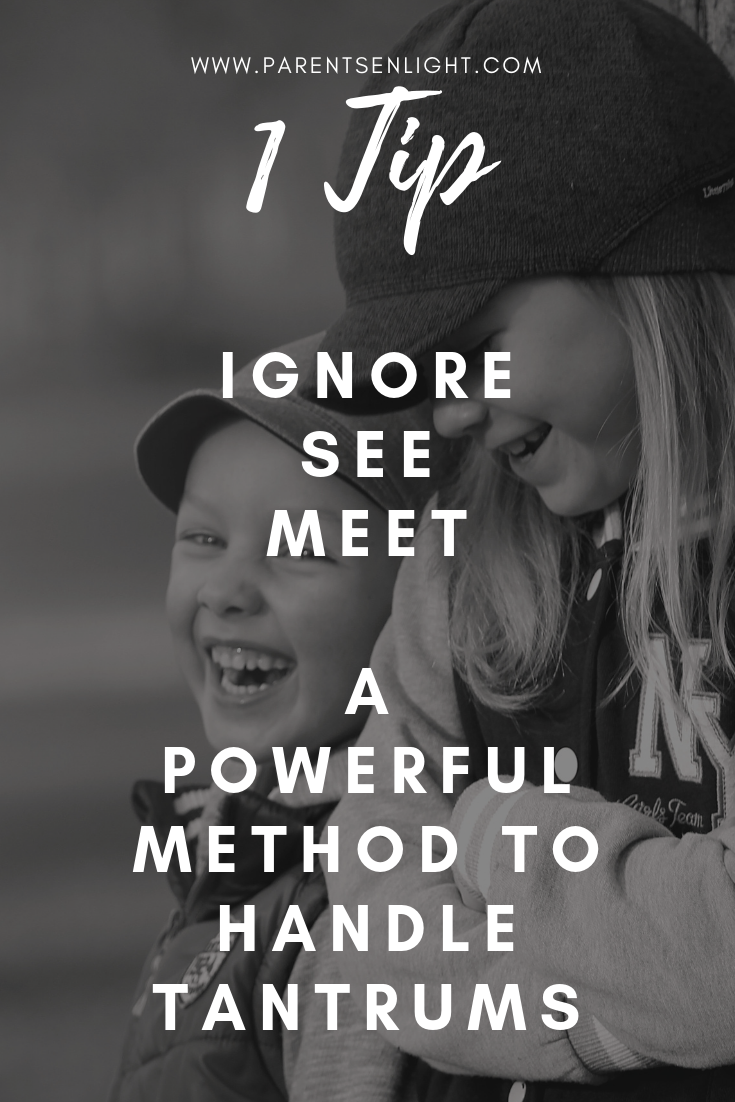 1 powerful tip to handle tantrums and empower your children. If you know that the method you're using just doesn't work - try this.