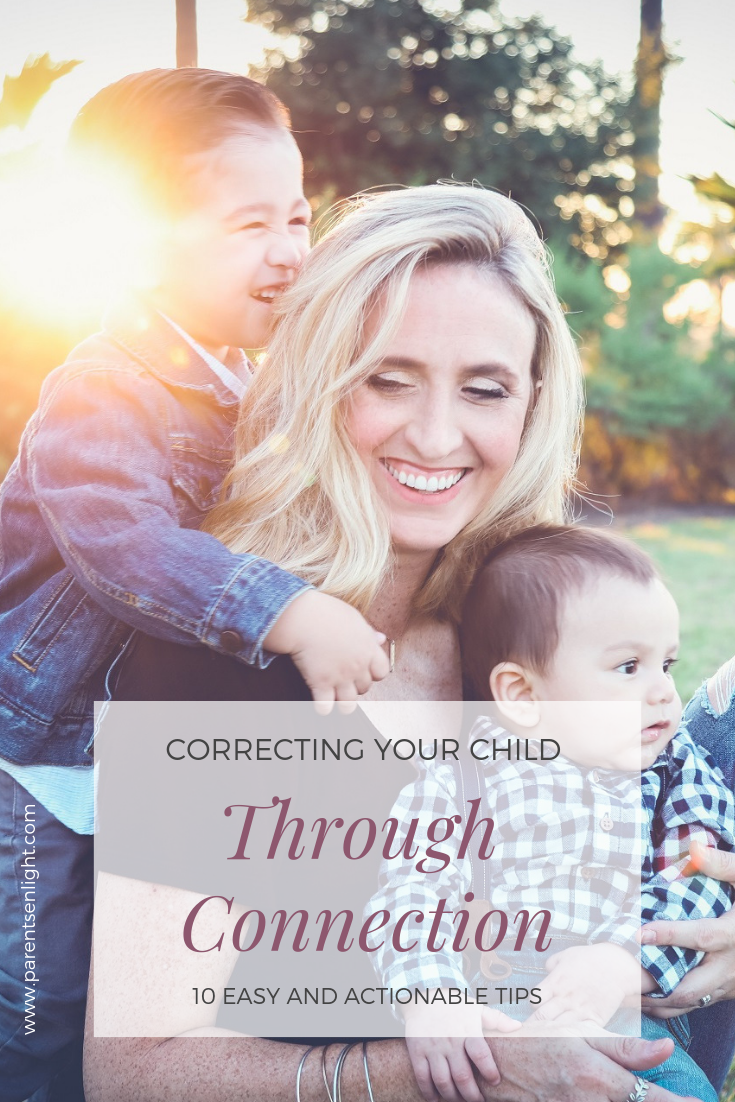What if I told you there was an easy and effective way to correct children's behavior - there is, and it's right here.