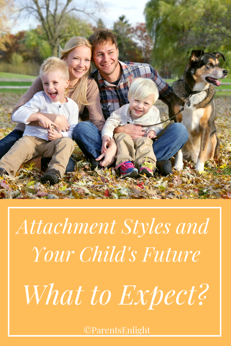 #Parenting is a mindful decision. This is what you can expect your child to grow into, depending on the #Attachment Style lived at home. #Attachment Parenting #Mindful Parenting