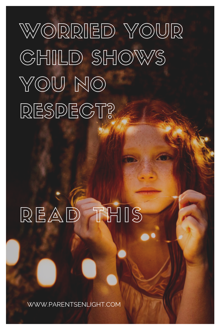 What do we really teach our children when we teach respect And do we really want our children's respect, if we follow the modern definition of it?
