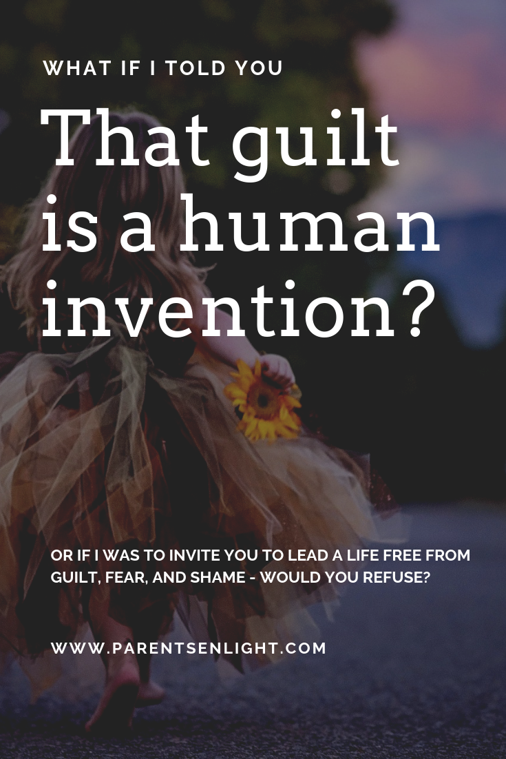 What if I told you that guilt is a human invention that's meant to maintain a social structure - wouldn't you like to break free