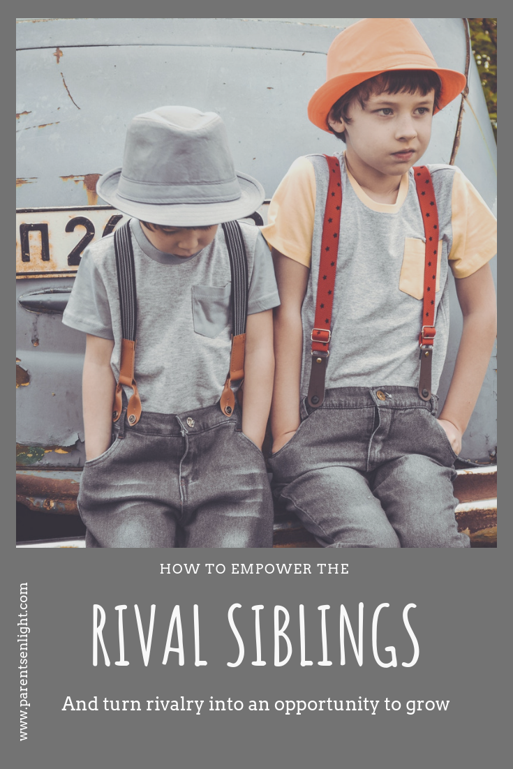 Sibling Rivalry is an incredible opportunity for growth and empowerment. But it is, usually, up to you.