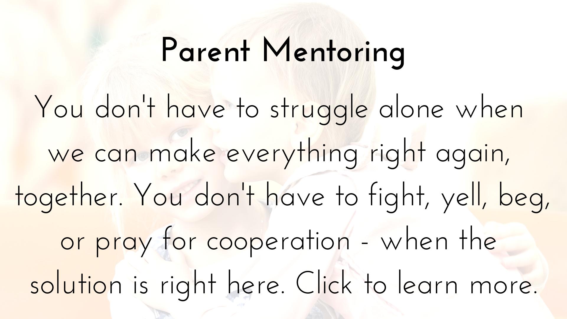 Parent Mentoring