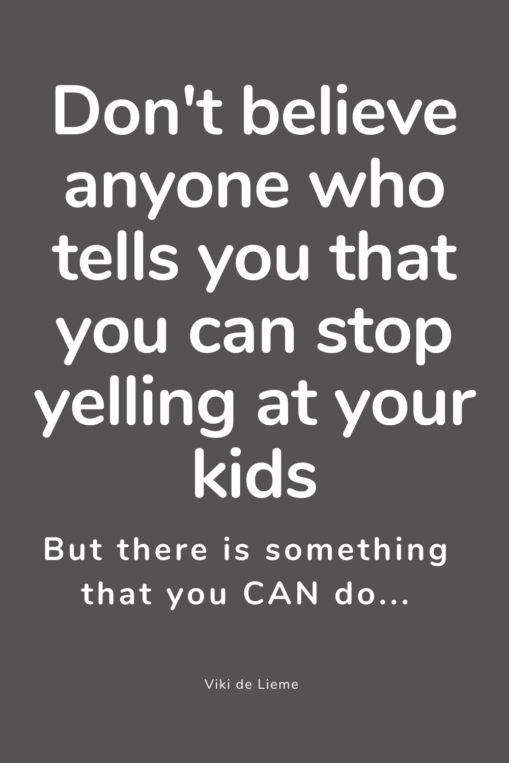 One of the things that upset me the most are posts and articles promising 10 easy steps to stop yelling at your kids. Here's the thing - there's no such thing. Parenting without yelling does not exist. There is, however, a way to yell mindfully. I swear. Yell authentically in a way that doesn't cause guilt and shame with the kids, and works to relieve you from your feelings. Here it is #mindfulparenting #positiveparenting #howtostopyellingatmykids #littlebodiesbigemotions #positiveparenting