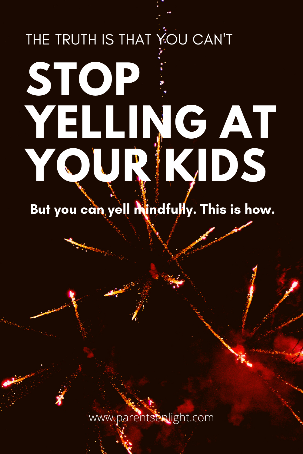 The main problem with yelling at children is the sense of guilt and shame through which results are often achieved. Guilt and shame are harmful, yelling mindfully is a blessed change anyone can take for the sake of their family and children's wellbeing. This is how #howtostopyelling #badmom #goodmom #parenting #mindfulparenting #mindfulness #positivecommunicationwithkids #peacefulparenting #stopyelling #parentinghelp