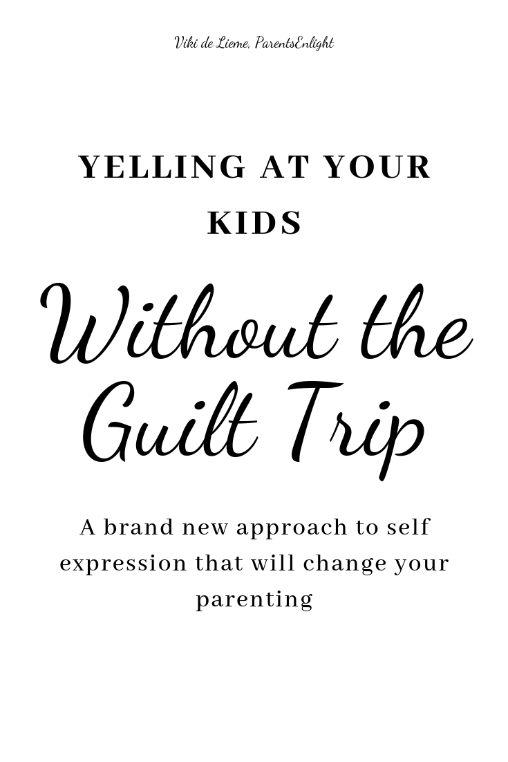 If you hate yourself each time you raise your voice, I get you. I really do. Read this article, learn a brand new way of actually yelling at your kids, but still keeping the communication flowing. #parenting #calmparenting #gentleparenting #peacefulparenting #positiveparenting #positivecommunication