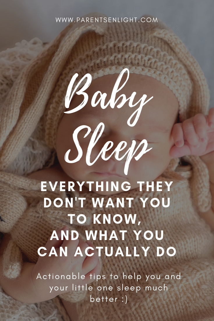 There is so much misinformation regarding baby sleep. Here is the full truth no one wants you to know and actual tips to sleep better