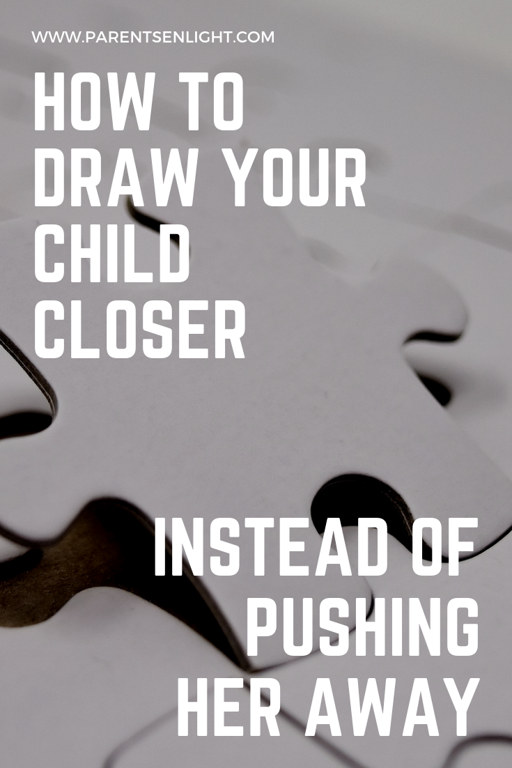 Applicable for children of all ages, here you will find the one secret that will allow you to keep your children close, rather than pushing them away.
