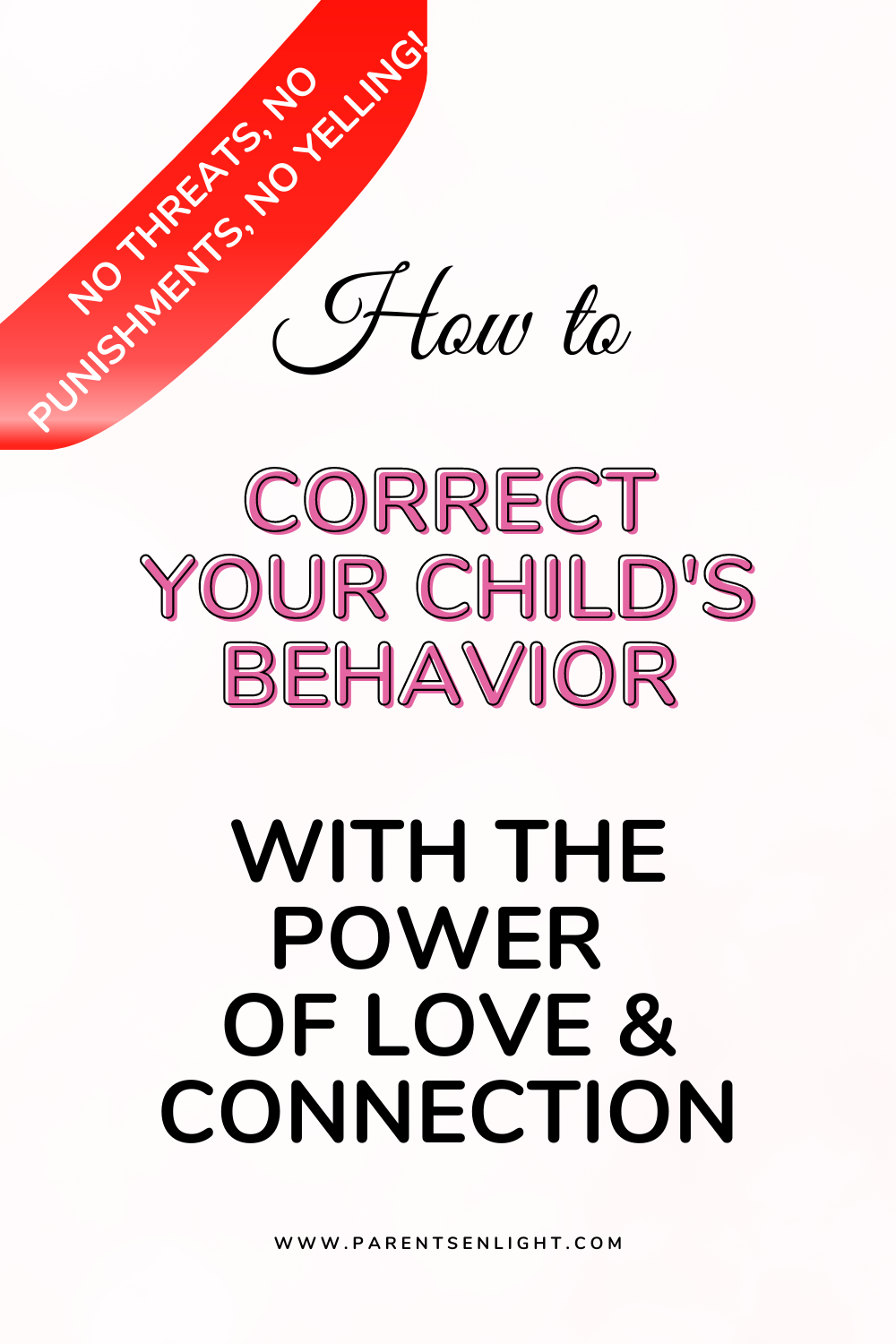 More often than not, our attempts to correct our children's behavior result of more of the same behavior. This is why it's happening, and what to do instead! #positiveparenting #terribletwos #positiveparentingsolutiuons #positiveparentinghelp #peacefulparenting #nvc #mindfulparenting #mindfulness