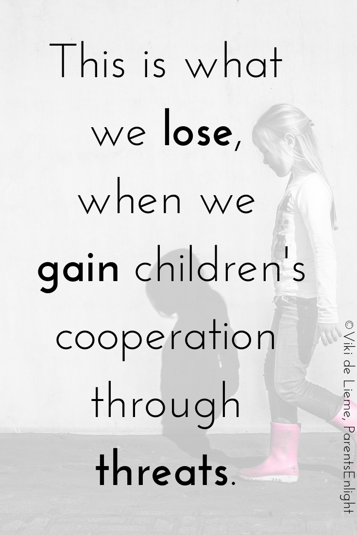 Momentary cooperation is not worth the loss of connection, security, safety, and trust. #attachmentparenting #mindfulparenting #nonviolentcommunication