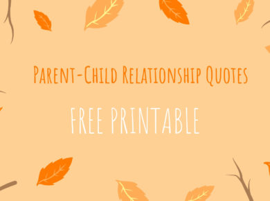 Parent-Child Relationship Quotes