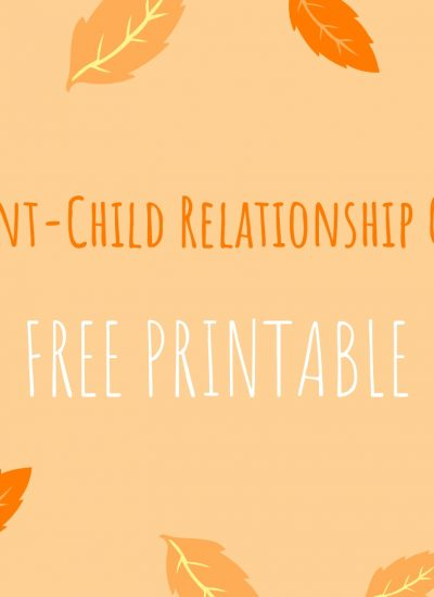 Inspirational Parent-Child Relationship Quotes – Free Printable