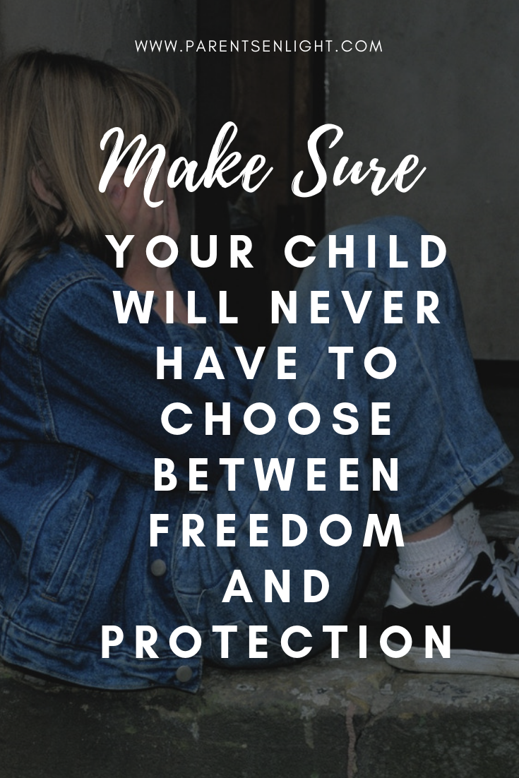 The choice between freedom and protection is taken when we are just a few days old, yet it defines our life's course. This is how we can break the cycle and raise free children.