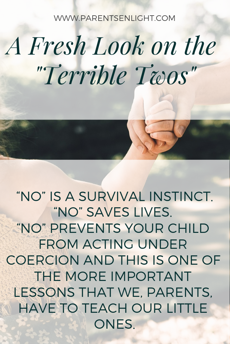 A fresh look on the terrible twos that will help you experience this period differently.