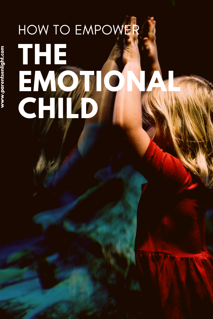 How to REALLY help an emotional child cope with her emotions and to overcome challenges #mindfulparenting