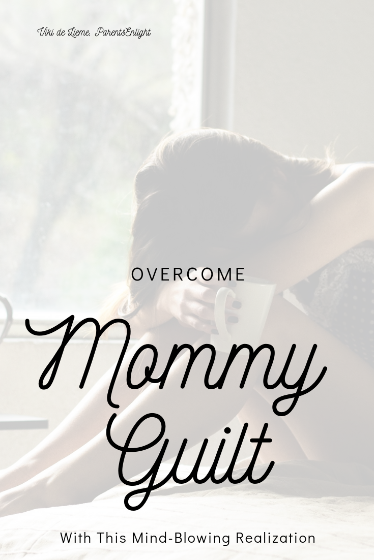 I'm a #mother, I know. No matter what we do, we always feel we could have done batter. But here's the truth no one tells you... #motherhood #guilt #overcomingguilt #mindfulness #parenting