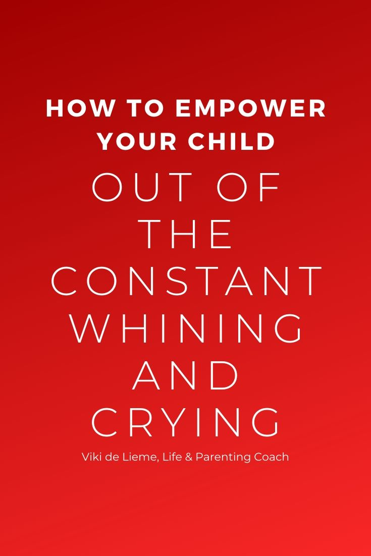 Some kids just seem to communicate in that whiny tone that drives parents nuts; others seem to cry at the smallest desire. This is why and how you can put an end to this behavior #parentinghelp #parentingadvice #whiningandcrying #whinychild #cryingchild #mindfulparenting #positiveparenting #parenting help