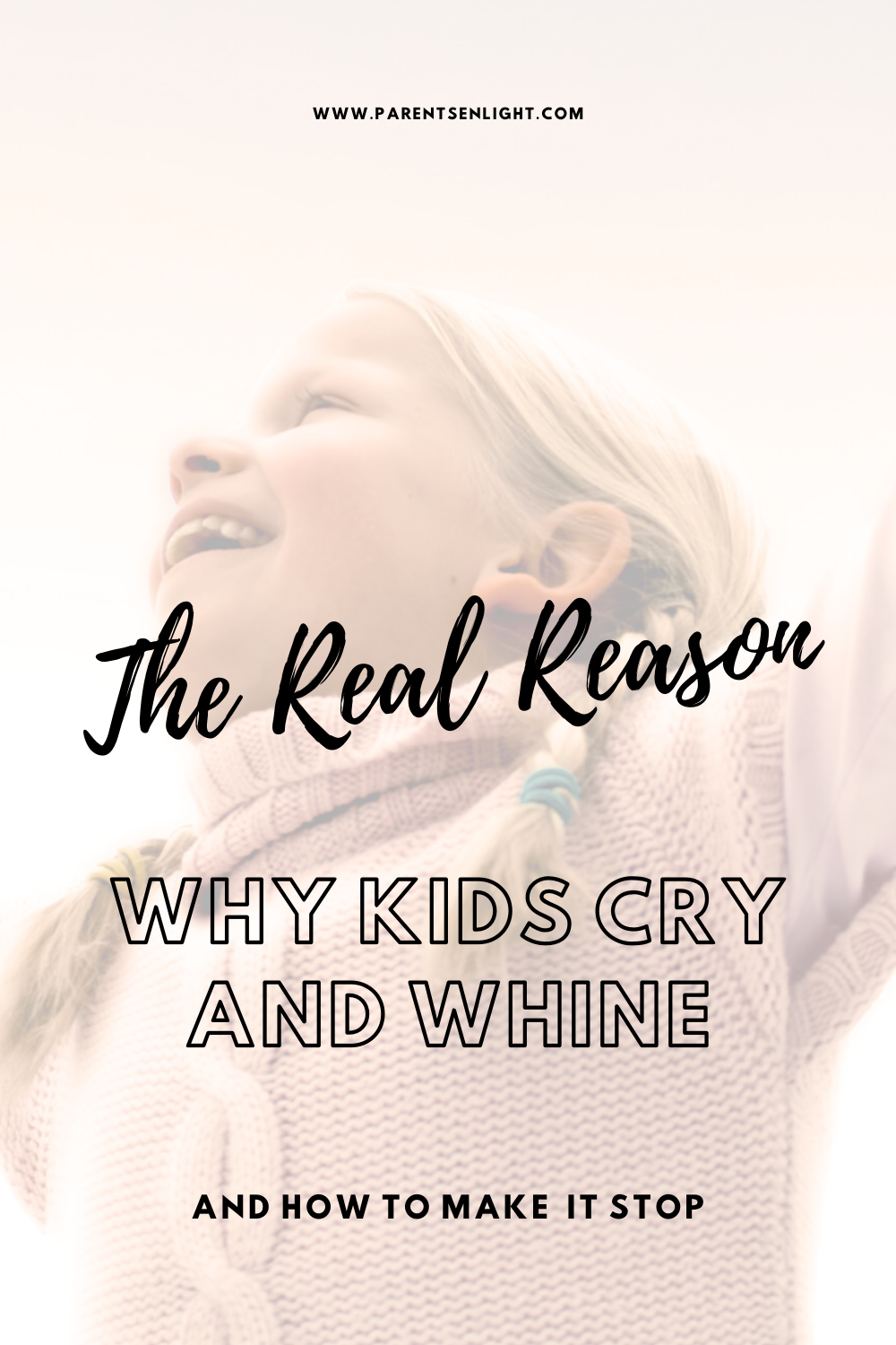 Crying and whining is a triggering behavior for most parents, for the most obvious reason - it's really annoying. Especially when it's our child's main form of communication. The problem is that our reaction is usually making it worse. Here's how to address #whining and #crying and empower your child. #parenting #positiveparentingstrategies #parentingtoddlers #positiveparenting #attachmentparenting #smartparenting