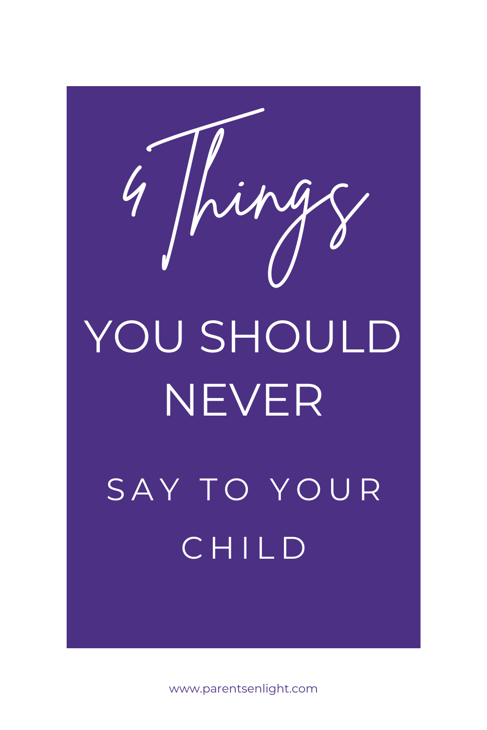 If only we knew how children interpert our words, there are many things we'd never say. Learn why kids perceive words differently, and the actual outcome of 4 sentences all parents use  #howtobondwithyourkids #bondwithyourkids #reconnectwithkids #bondingwithdaughter #mothersonbonding #bondingwithfamily #familylife #raisinghappykids #momadvice #hacksforbusymoms #workingmom #momguilt