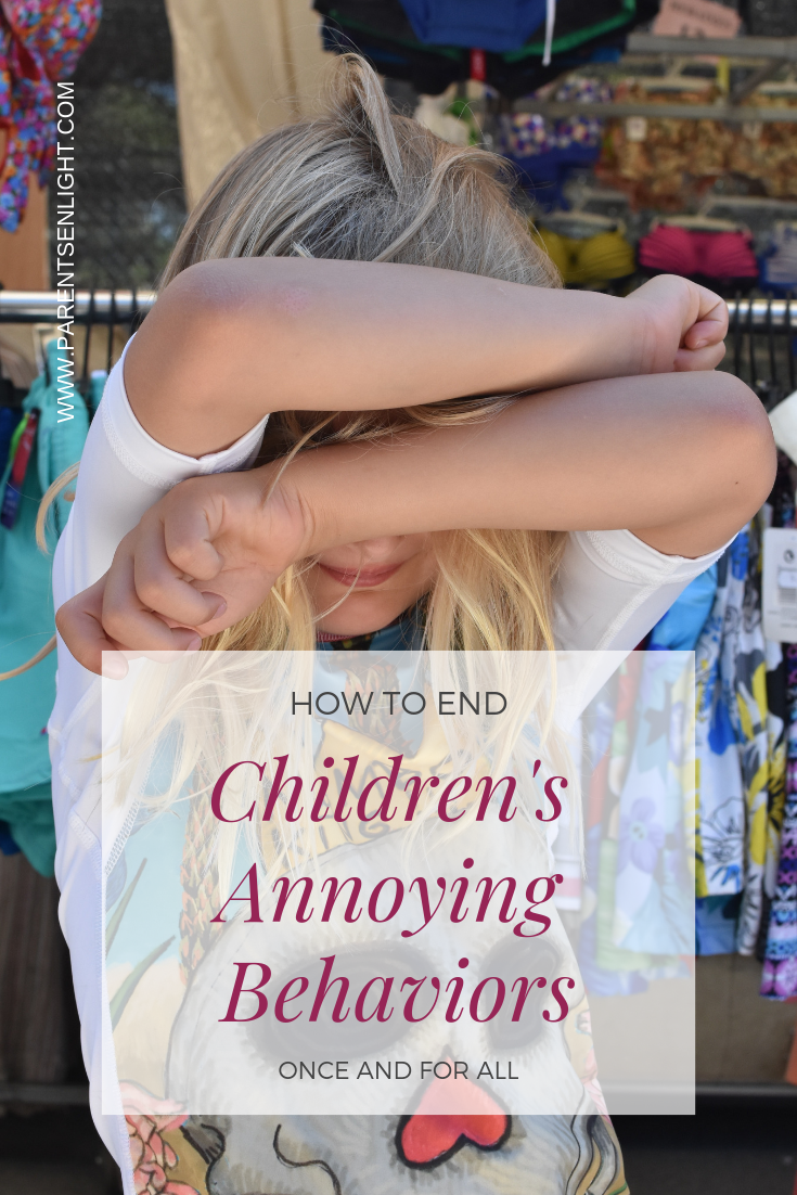 The single proven method for dealing with your child's annoying behavior - positively and without losing the connection. #parentingtips #parentinghelp #positiveparenting