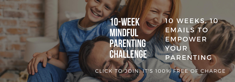 Mindful parenting challenge