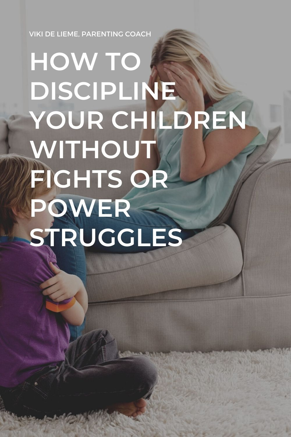 This is how you can discipline your children without fights and power struggles #parenting #discipline #powerstruggles #positiveparenting #attachmentparenting #parentingtips Peacefulparenting