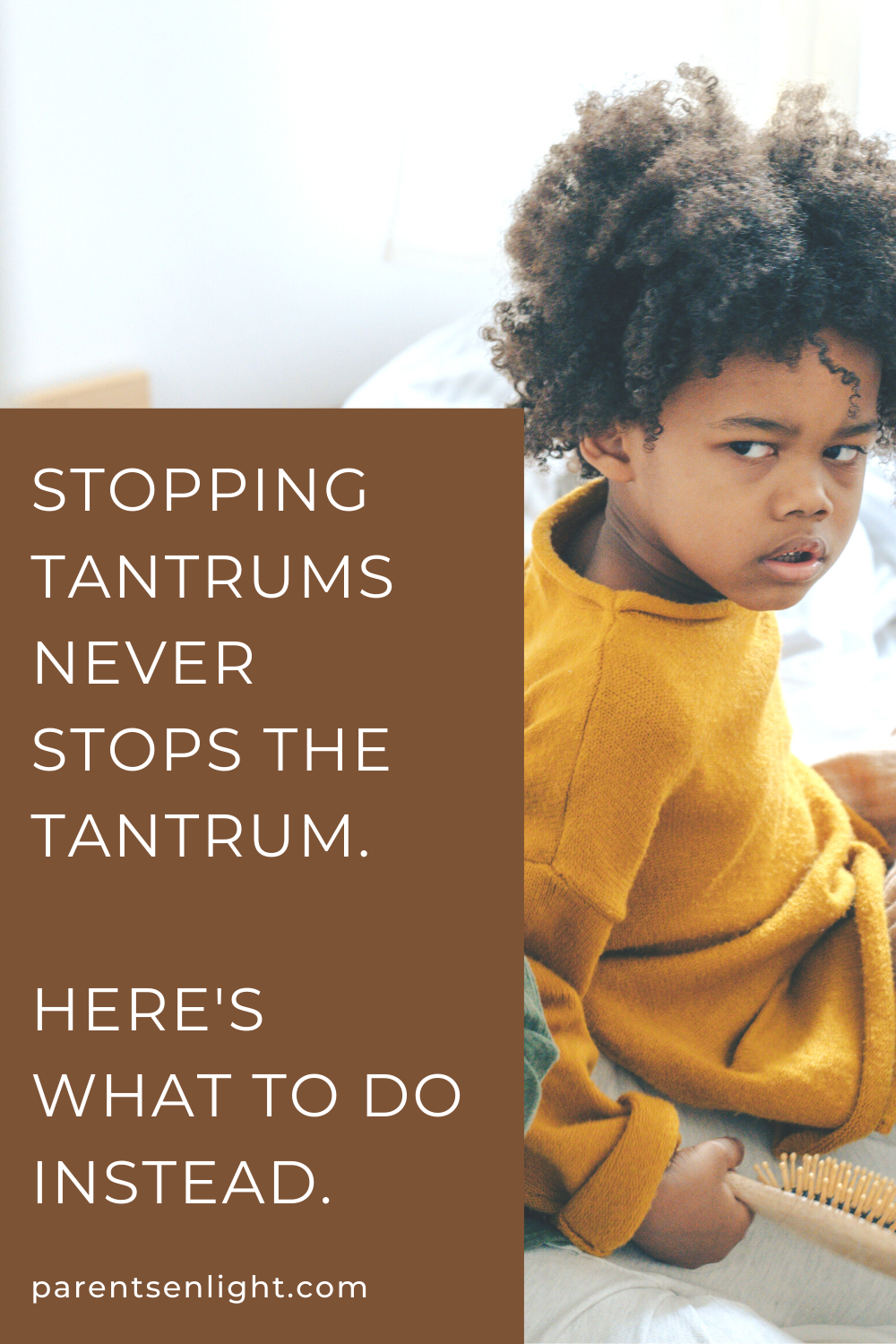 How often do your attempts to stop the tantrum actually stop the tantrum? And how often does it get ten times worse? Here's what to do instead and decrease tantrum occurrences and their duration. And there's a massive tip waiting for you inside :) #tantrums #stoptantrums #children'sbehaviour #children'sbigfeelings #raisinghappykids #emotioncoachingchildren #children'sbehavior #parenting #attachmentparenting #nvc #parentinghelp #positiveparenting #positivediscipline #positiveparentingtips #parentingtips #mindfulparenting #mindfulness