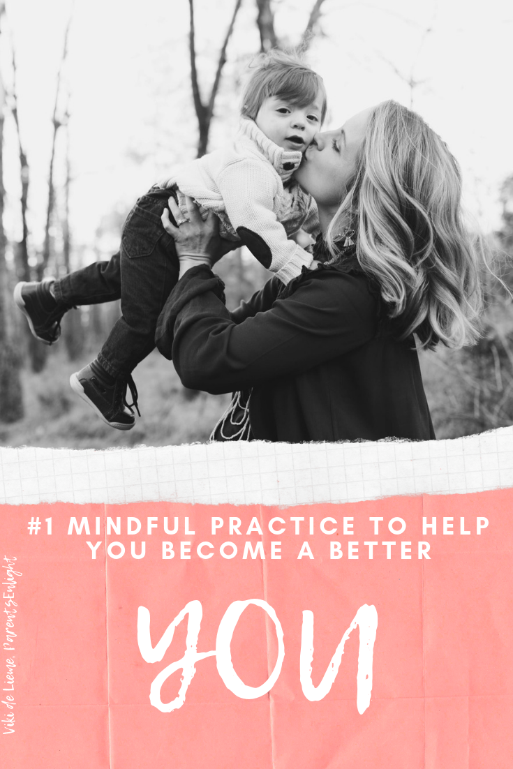 If there was one thing you could do, just one, to lead a better life - would you do it? #intentionalliving #mindfulness #betterlife #bettermom #motherhood #parenting