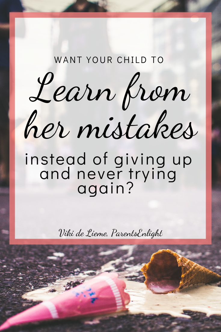 Learning from mistakes: We all make mistakes, making mistakes is a part of life; but there is only one way to grow from our mistakes, and unfortunately - most of us are using other methods when parenting. #mindfulness #mindfulparenting #positiveparenting #learning #mistakes
