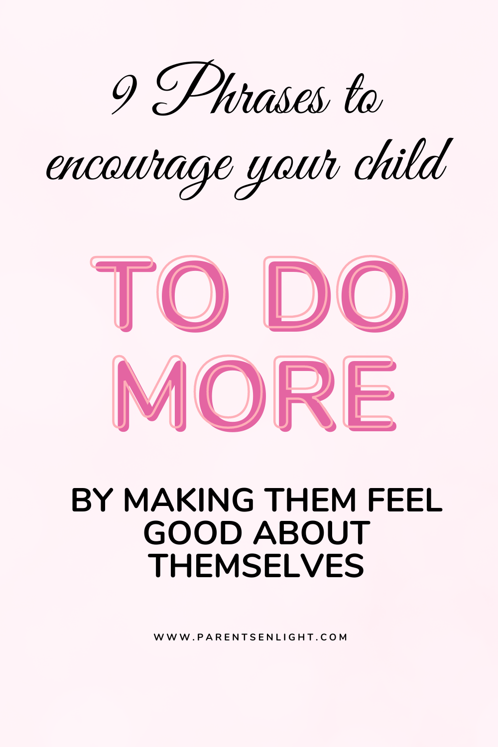 Do you want to encourage your child to do more? To do better? To strive higher? This is how #positiveparenting #motivatingchildren #positiveparentingsolutions #howtogetyourchildtodomore #positiveparentingstrategies