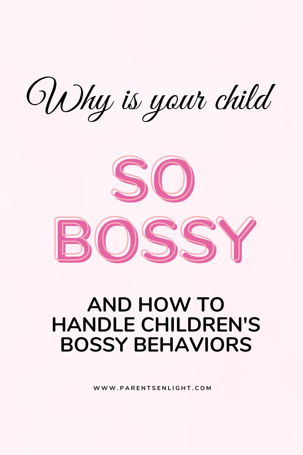 Bossy behaviors can drive parents and siblings nuts! Believe me, I know... The thing is, that bossiness is a strategy to meet a need. Here's what that need is and how it's don. Read more #bossychild #bossybehaviors #whyismychildbossy #positiveparentingsolutions #positiveparentingstrategies #becomeapositiveparent #positiveparentingeducation