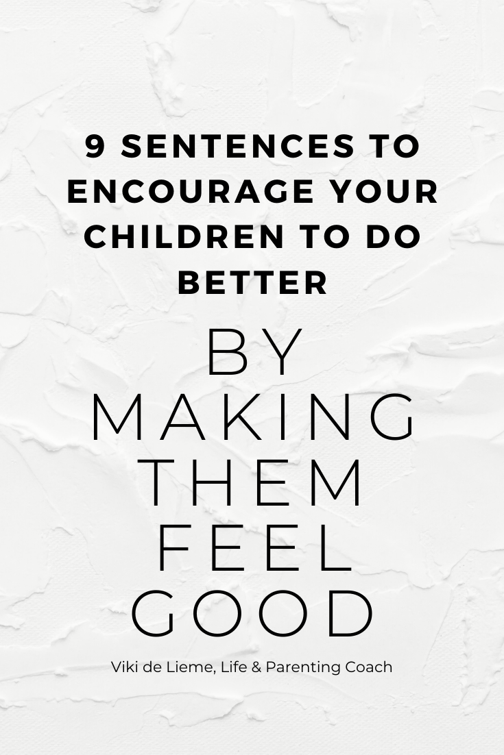 Making people feel bad doesn't really make them do better :) But making them feel good - connects them to you and your cause and motivates them to listen to you and cooperate with you. This is how you can encourage your children to do better WHILE making them feel good about themselves #positiveparenting #mindfulparenting #parentingtips #parentingadvice #peacefulparenting #parents