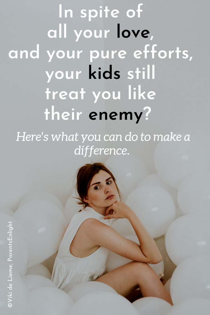 Sometimes our children perceive everything we do differently from what it really is. What we see as love, they see a judgement. What we know are loving rules, feel like prison to them. Change your state of mind, change your relationship with your kids. #parenting #parentingteens #parentingtweens #parentinghelp #parentingtip #parentingadvice #mindfulparenting #attachmentparenting