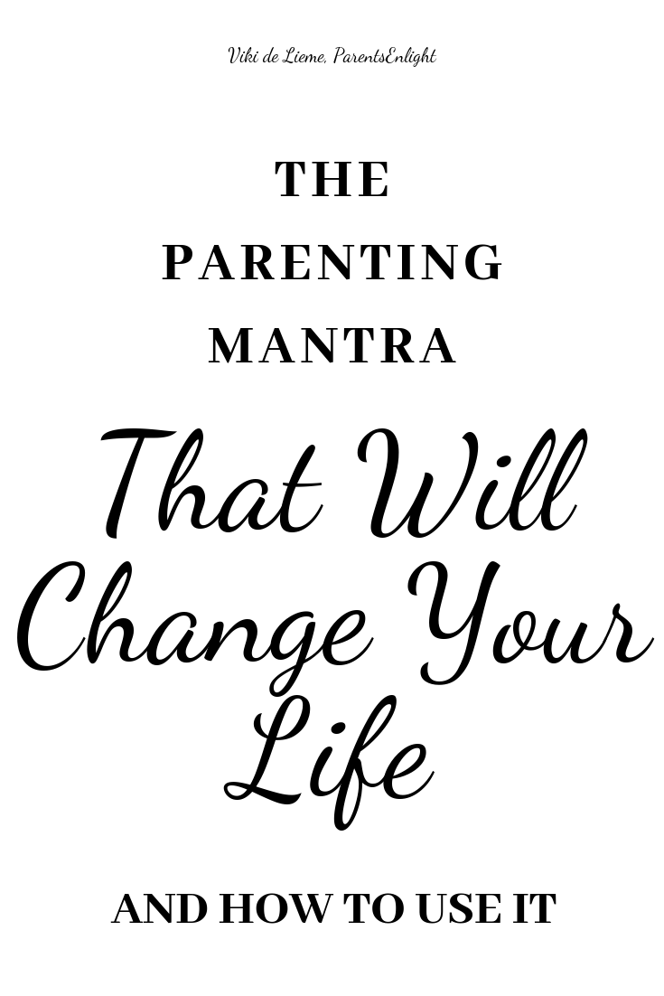Whenever things get tough, this is the parenting mantra I go to, to remind myself that everything is, actually, okay. It helps me be less stressed, less overwhelmed, and prevents me from judgement. #gentleparenting #mindfulparenting #positiveparenting #parenting #mindfulness #mantra #howtobeacalmparent
