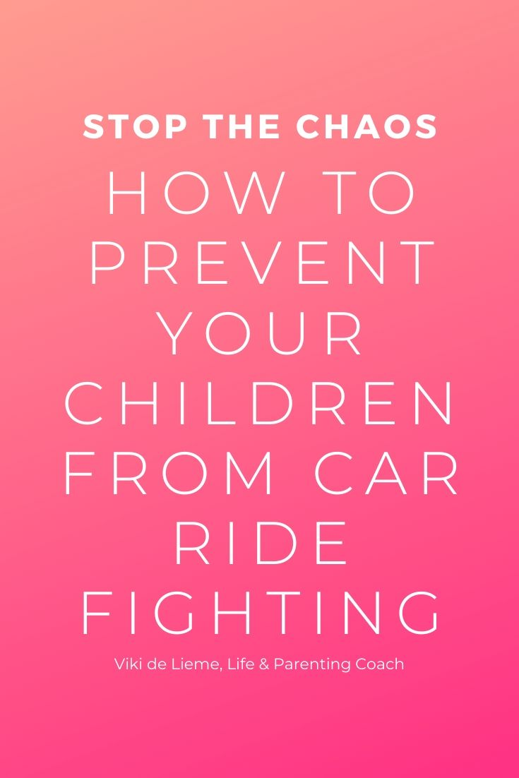 If you're willing to do almost anything to avoid car rides with your children - this article is for you. Learn how to prevent the endless backseat bickering and whining with empathy and compassion #positiveparenting #parentingsolutions #carrideswiththekids #parentingadvice #parentingtips #parentinghelp #kidsfighting