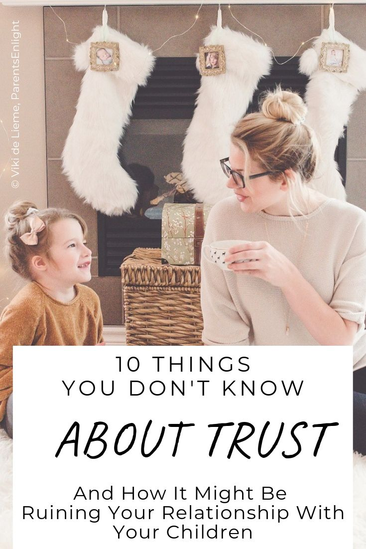 Almost every hiccup in every #relationship, definitely in a #parenting relationship, turns to tiny cracks in the wall of #trust and #mutualtrust. This is on everything we don't know about trust, and how to build trust in our #children. #motherhood #happiness #security #safety #positiveparenting #attachmentparenting