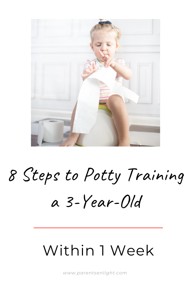 Looking to potty train your 3-year-old but have no idea how to approach the resistance? Look no further - there is only one respectful and positive method that also happens to do the easiest one :) #pottytraining #potty #training #positiveparenting #respectfulparenting #peacefulparenting