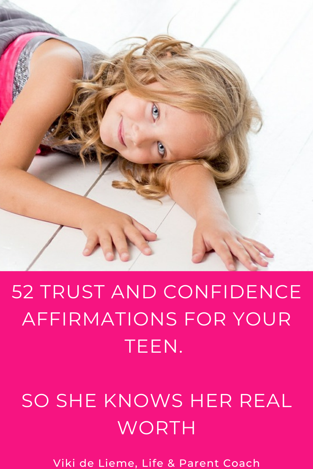 We want to raise empowered children, who know who they are and how know what they are worth. We want to raise a child who would know how to protect herself when someone or something doesn't meet her needs. We want to raise a future leader, but we have no idea how as we weren't parented this way. In this article you would find 52 trust and confidence #affirmations to share with your child every day #affirmationsforkids #mindfulparenting #peacefulparenting #gentleparenting #raisinghappykids #mindfulness #mindfulinoneday #happykids #parenting #parentinghelp #meditationsforkids