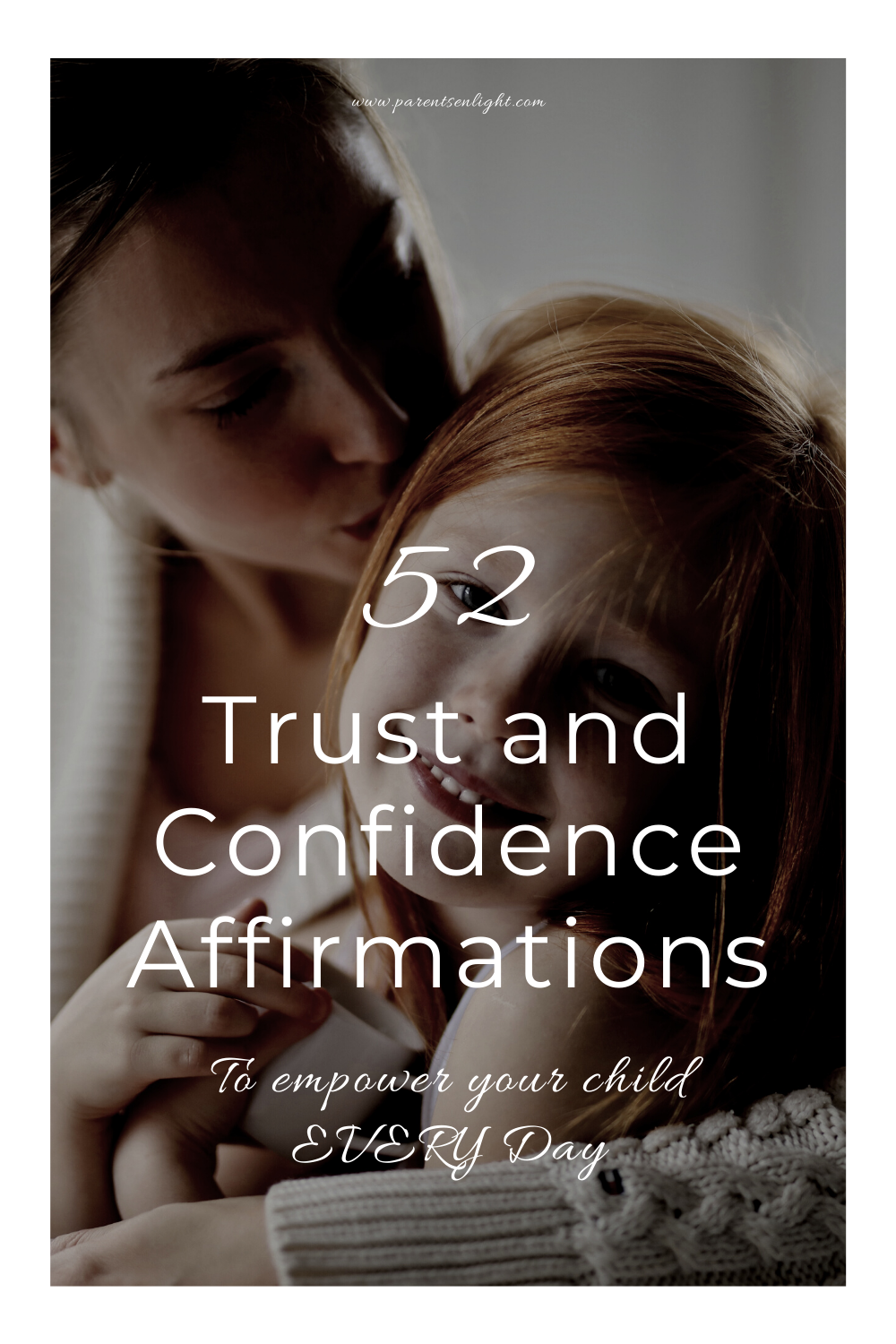 Our children's confidence, self-esteem, ad their ability to trust themselves and the world is (mostly) in our hands. Use these affirmations to raise a confident, happy child #affirmations #positiveparenting #gentleparenting #honestkids #truth #tellthetruth #chillddevelopment #parentingtips #brainscience #parentingadvice #parenting #toddlers #preschoolers #raisingkids #consciousparenting #positivediscipline #sciencebasedparenting