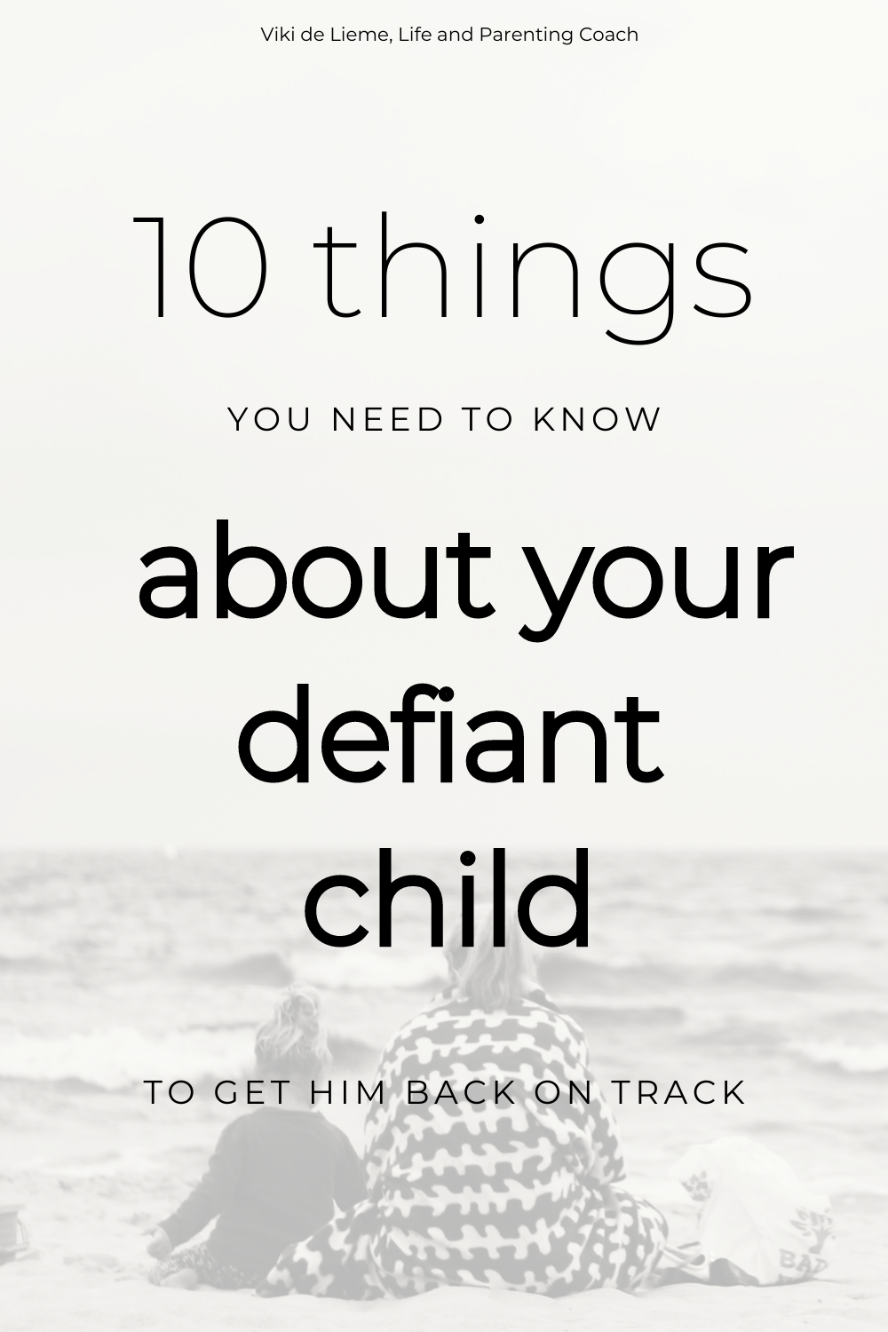 When kids become too defiant to talk to, when nothing we do seems to get them to cooperate with us, we usually follow up with more discipline, harsher discipline. But it doesn't work, does it? And it doesn't feel good, does it? Here's what to do instead. #childdiscipline #defiantchild #angrychild #misbehavingchild #parenting #positiveparenting #tantrums #stoptantrums #reconnectwithyourchild #positivepsychology