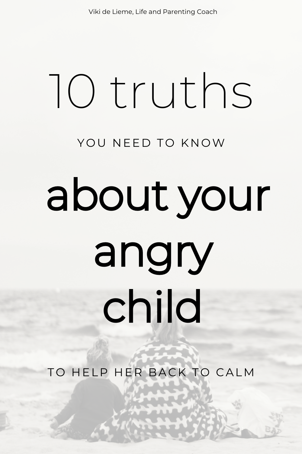 "When children's big feelings become ""too big"" for us to handle, it's when we usually shut down and are willing to do everything that we can to help them shut down too. But it doesn't work. The more we want it all to stop, the bigger these feelings get. Here's what to do to help your angry child back to calm. #angrychild #defiantchild #misbehavingchild #parenting #parenting101 #parentinghelp #positiveparenting #tantrums #stoptantrums #positivepsychology"