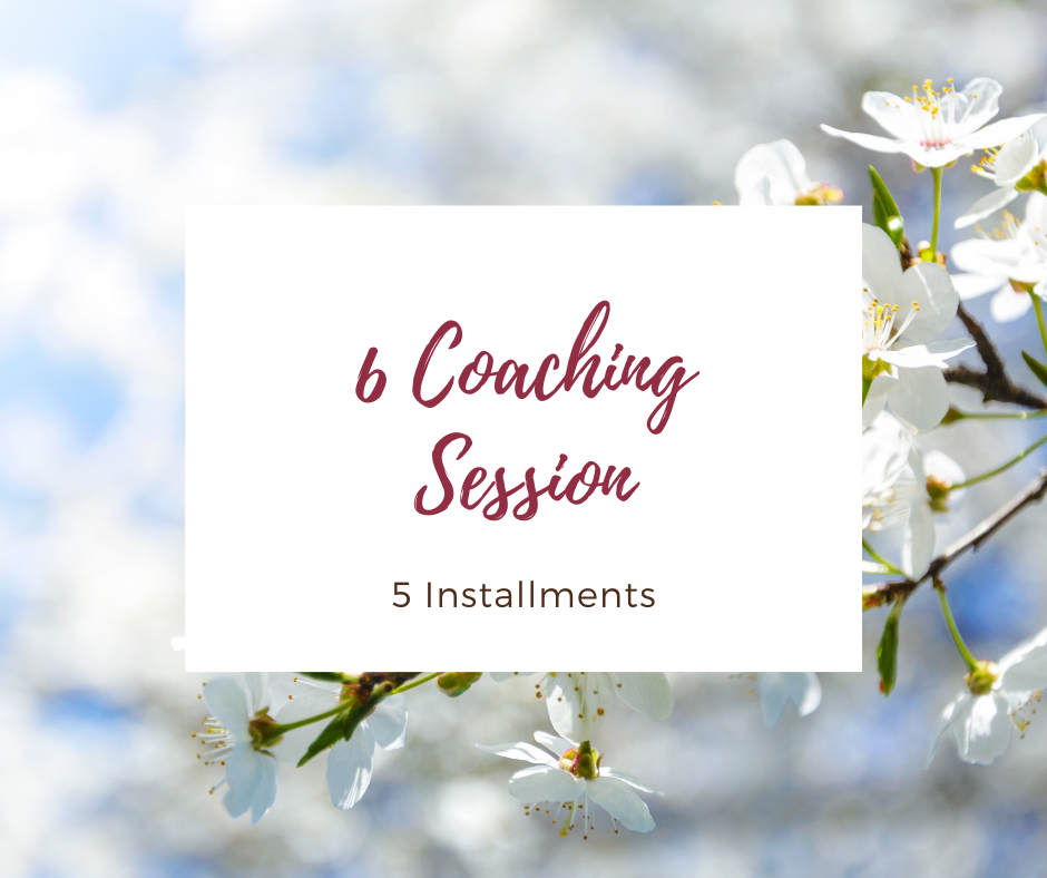 6 Coaching Sessions, Five Installments
