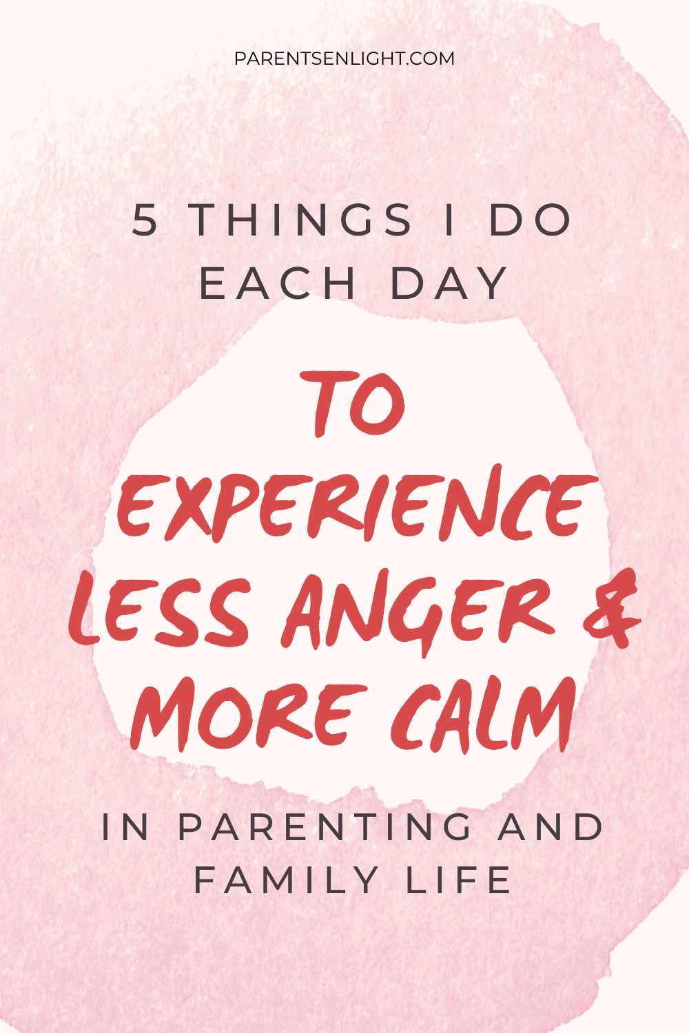 Feeling constantly angry, irritable, and impatient? Can't handle the fights and the power struggles? Here's a clear plan to create more calm and less anger in parenting and family life #parentinghelp #mindfulness #nonviolentcomunication #youmatter #takecareofyou #angermanagement #mindfulparenting #peacefulparenting #positiveparenting